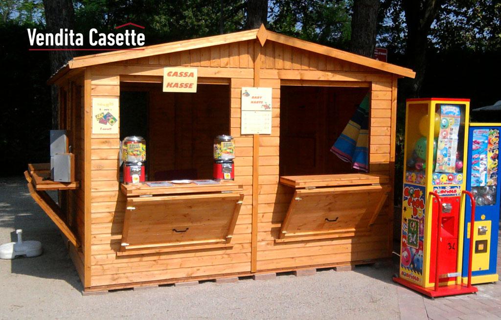 Chioschi in legno prefabbricati for Prefabbricati di legno