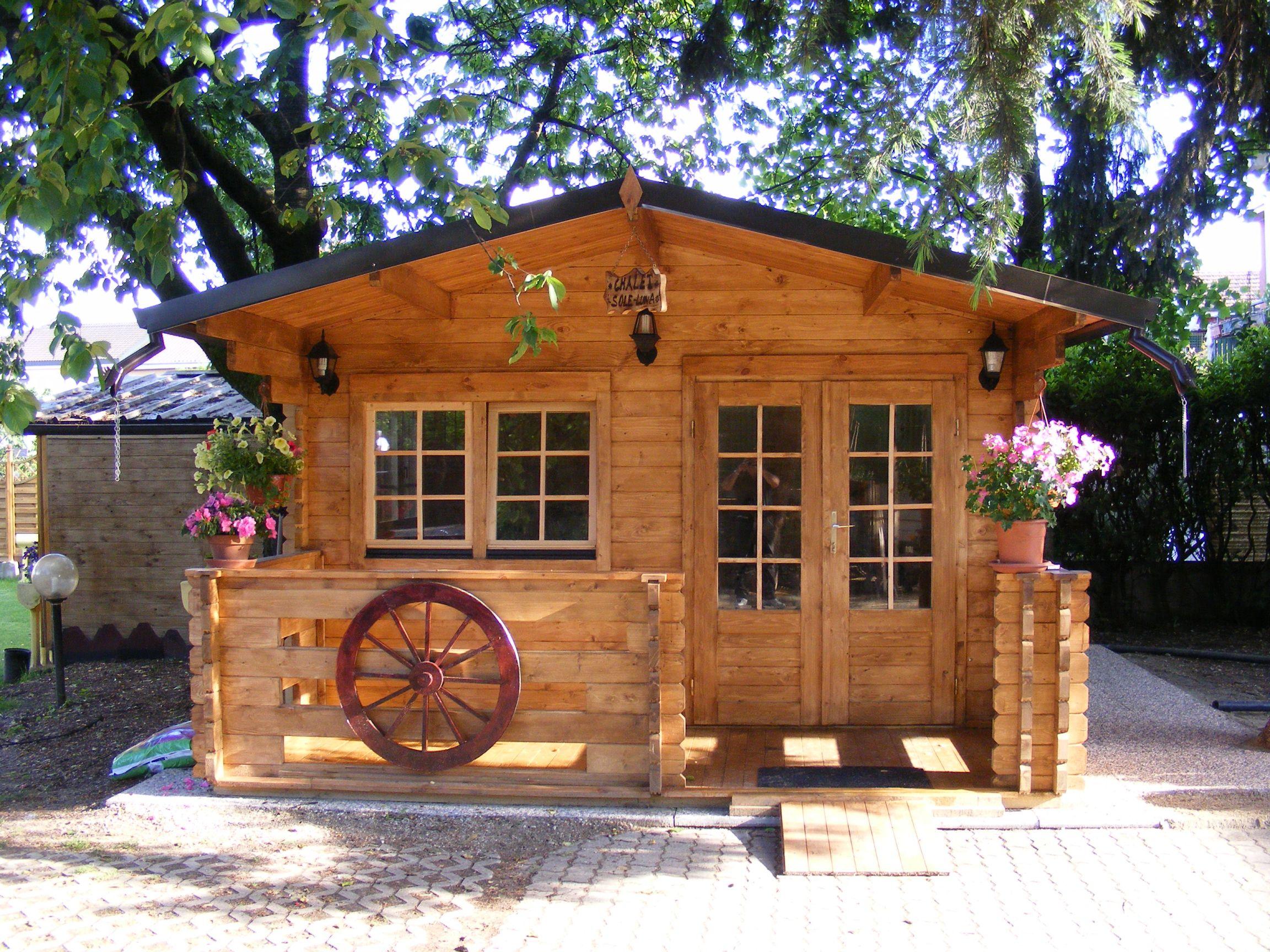 Casetta in legno milano 4x4 - Prezzo casa prefabbricata in legno ...