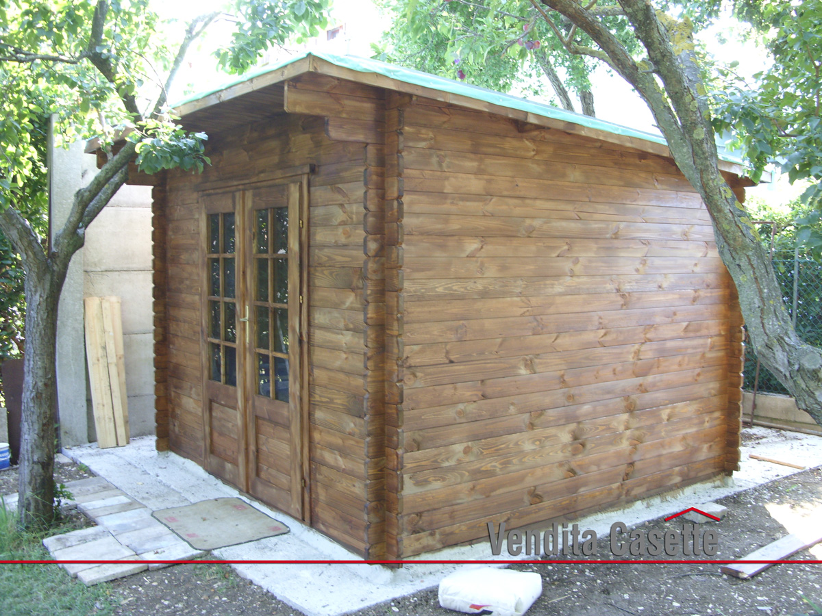Case e casette prefabbricate in legno for Casetta legno 3x3