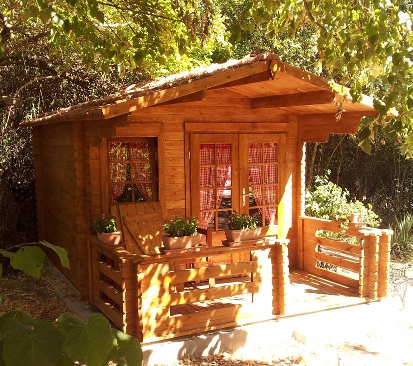 Casette in legno venezia 3x3 for Casette prefabbricate in legno