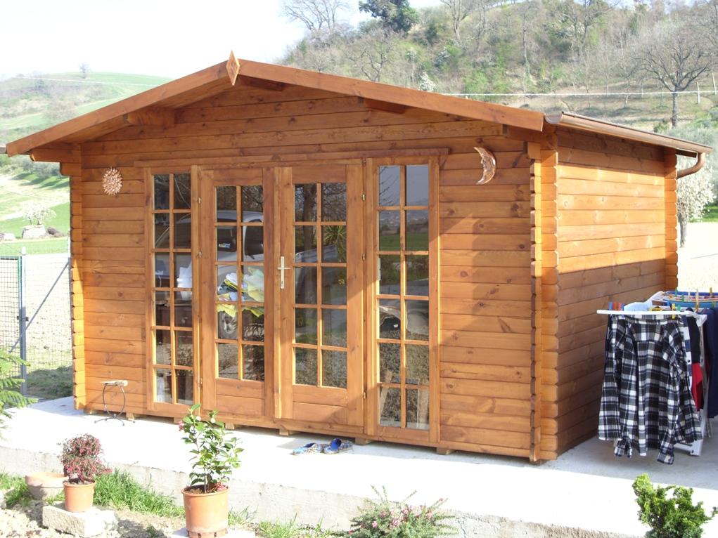 Casetta in legno basilicata for Casette prefabbricate