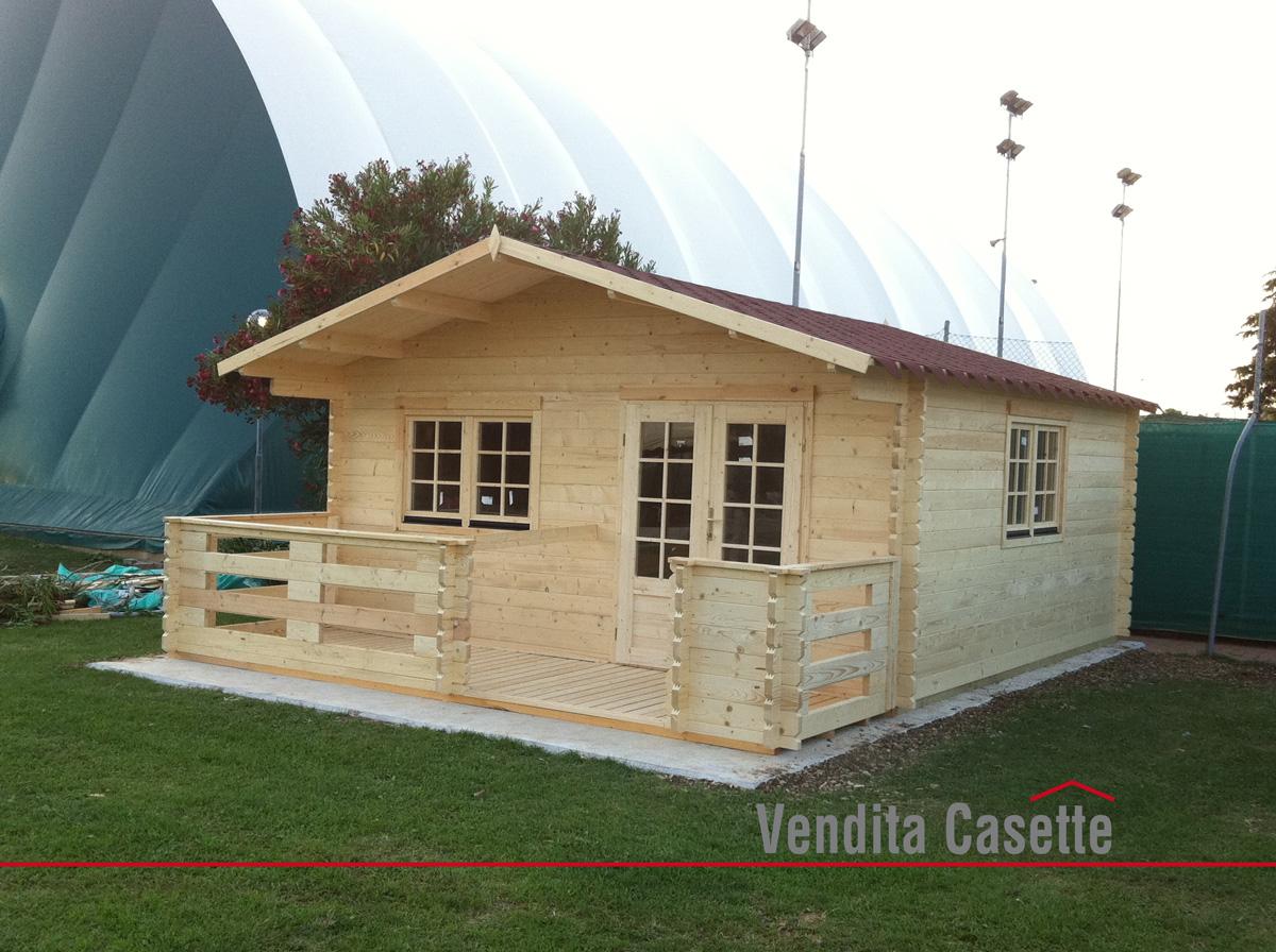 Casetta in legno milano 5x5 for Casette in legno abitabili