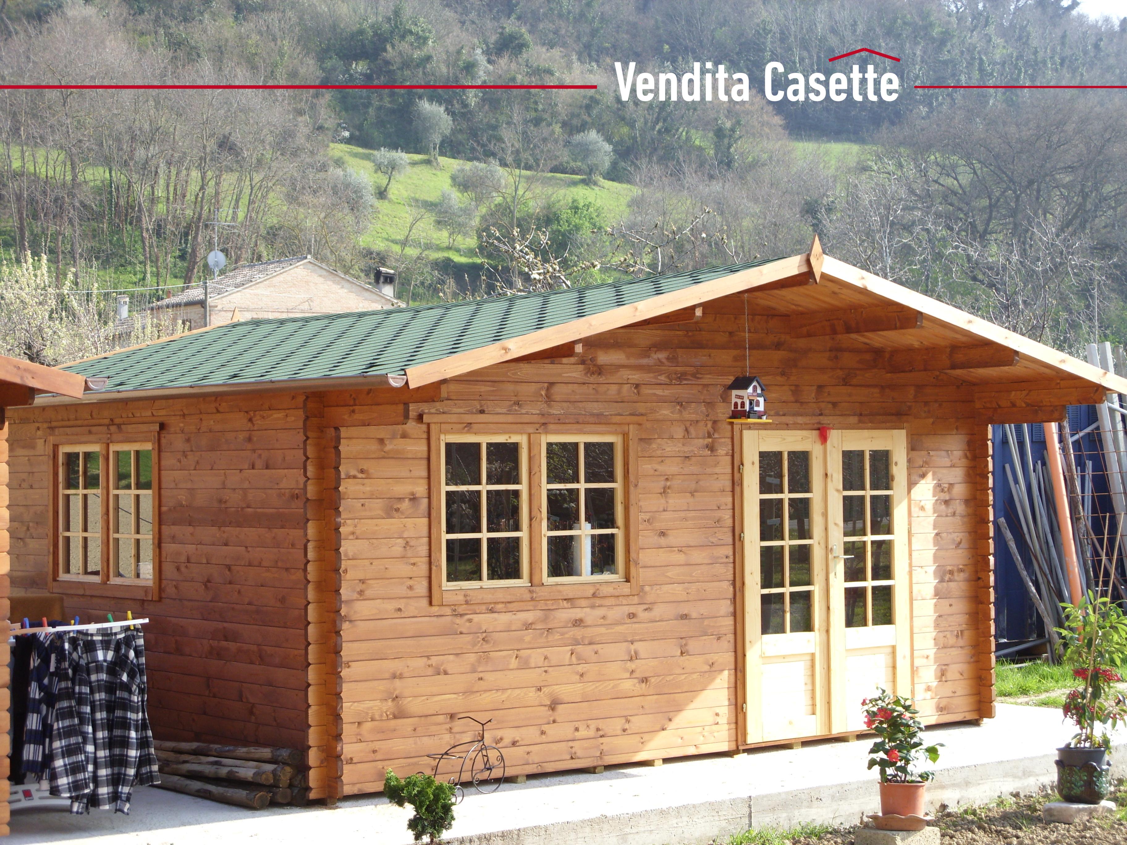 Case e casette prefabbricate in legno for Casette legno 5x5