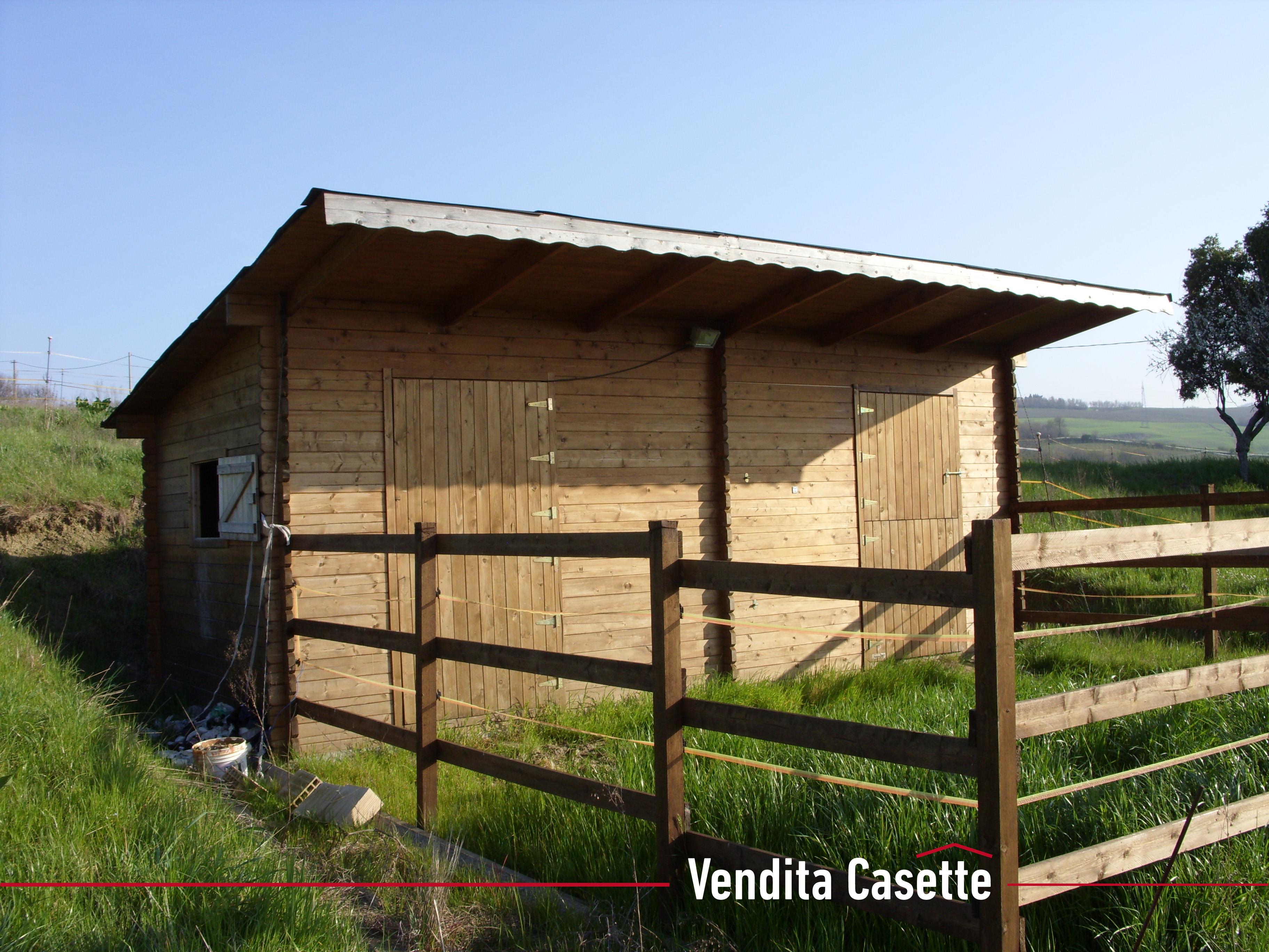 Case e casette prefabbricate in legno for Box cavalli prefabbricati