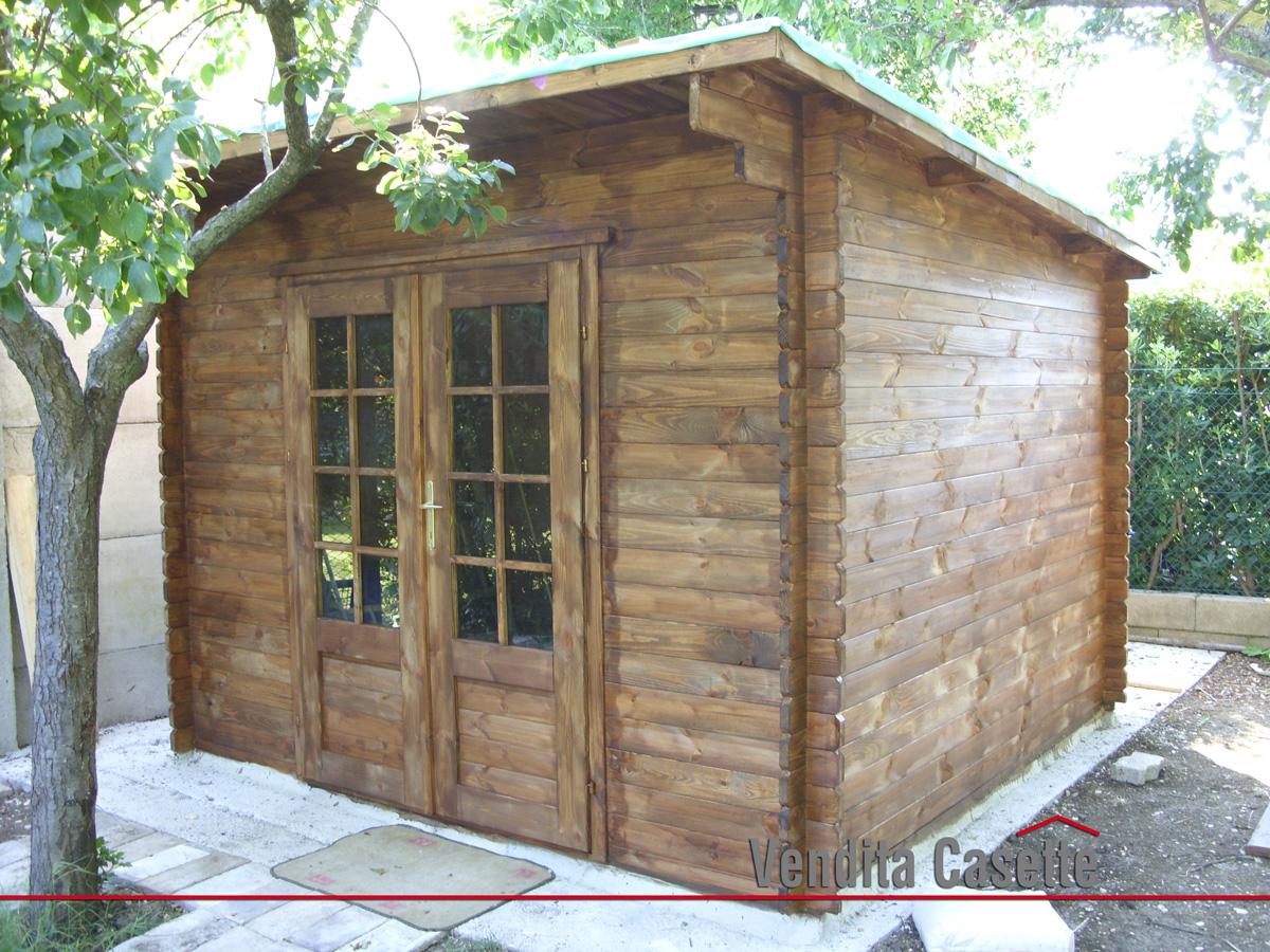 Case e casette prefabbricate in legno for Casetta di legno da giardino