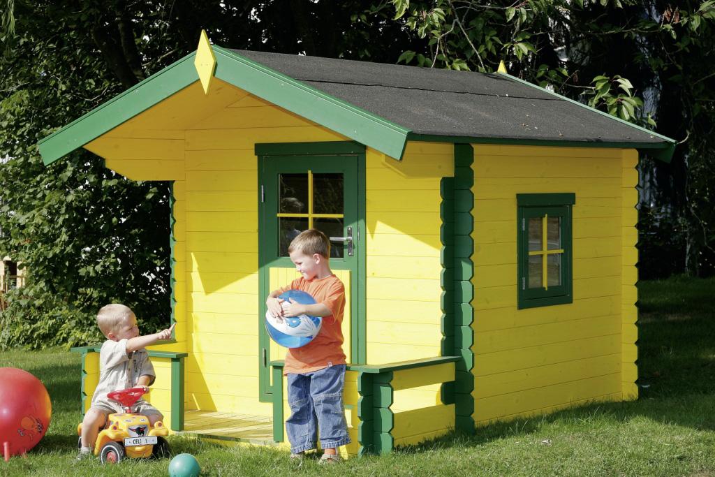 Case e casette prefabbricate in legno for Casette per bambini