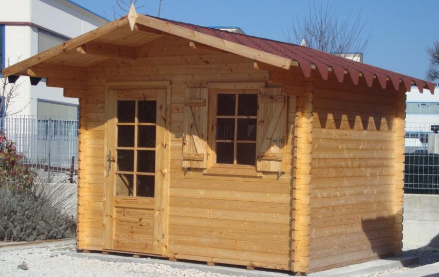 Case e casette prefabbricate in legno for Casetta in legno prezzo