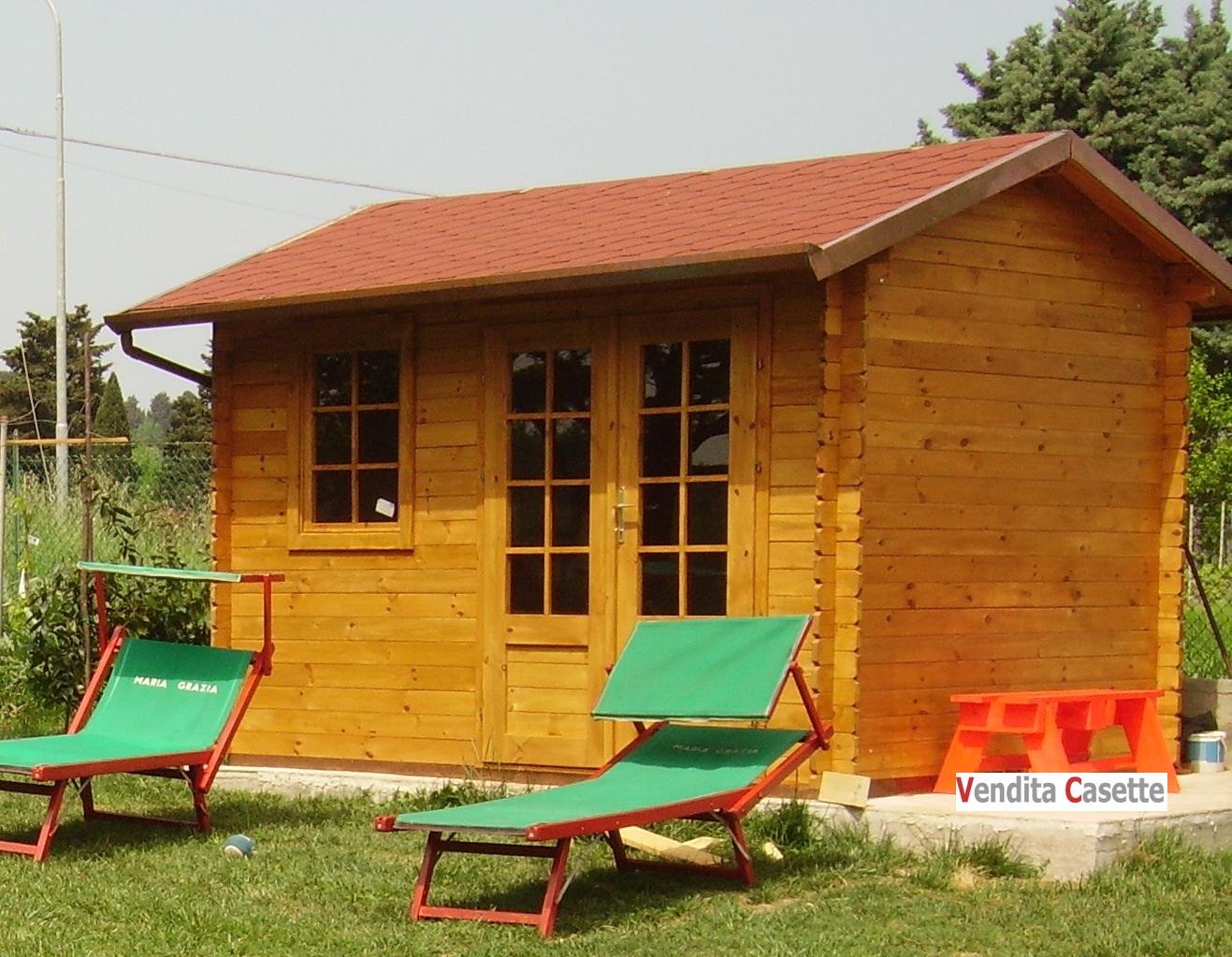 Case e casette prefabbricate in legno for Planimetrie semplici della casetta di legno