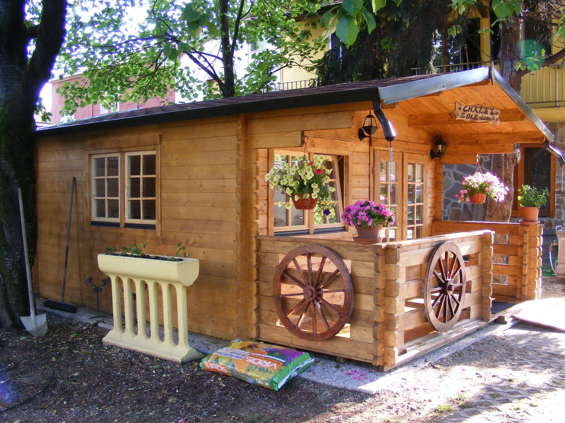 Casetta in legno milano 4x4 for Costruire una piccola casa da soli