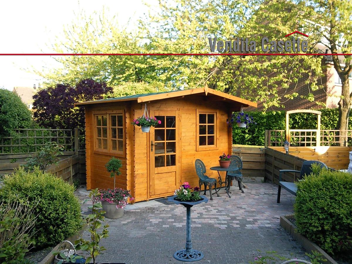 Case e casette prefabbricate in legno for Casette di legno