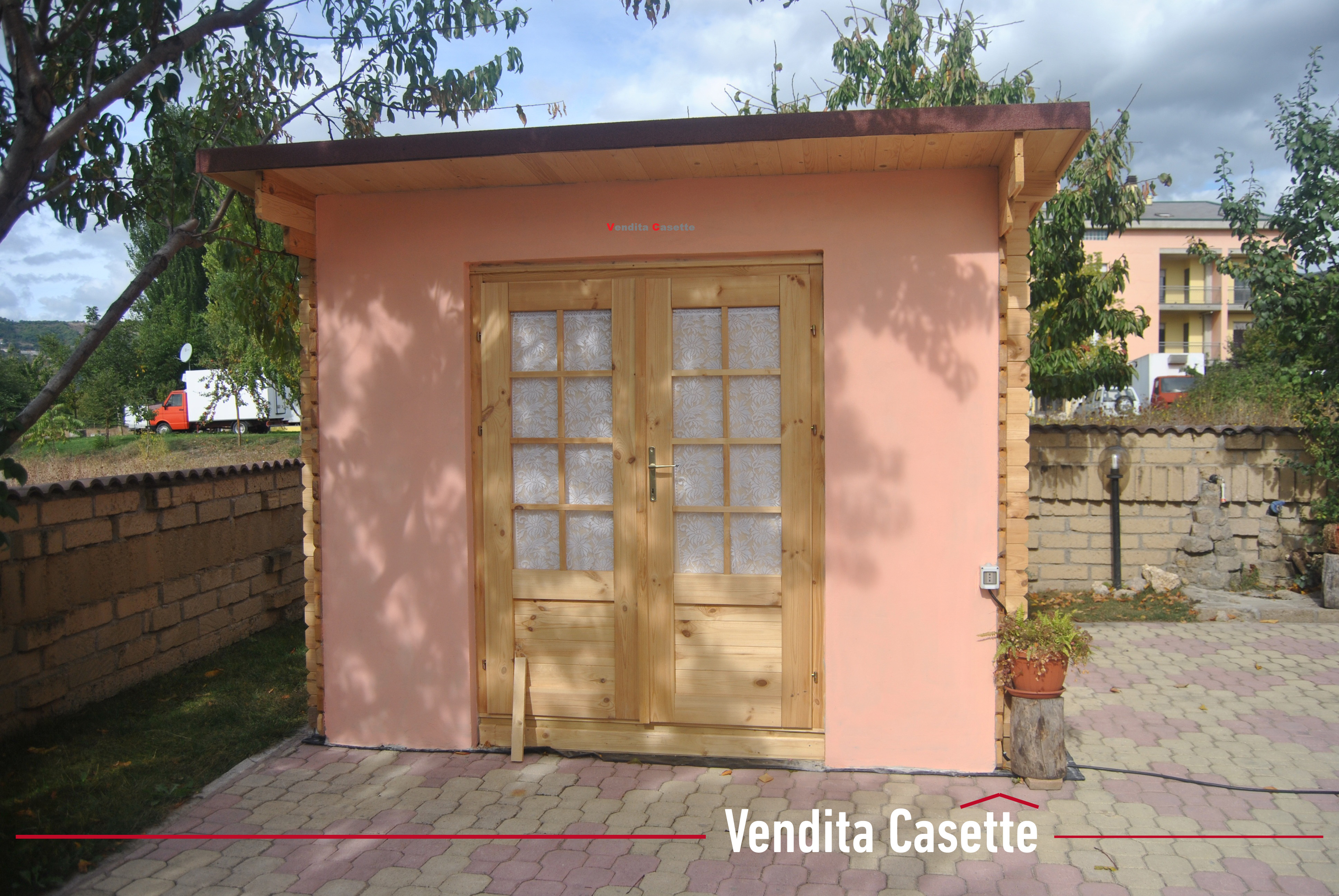 Case e casette prefabbricate in legno for Tavole in legno bricoman