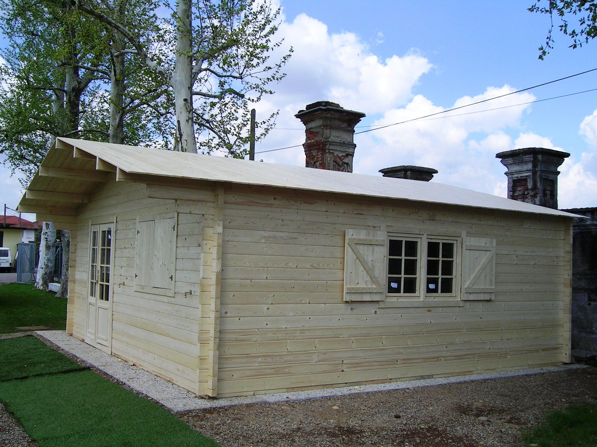 Case e Casette prefabbricate in legno