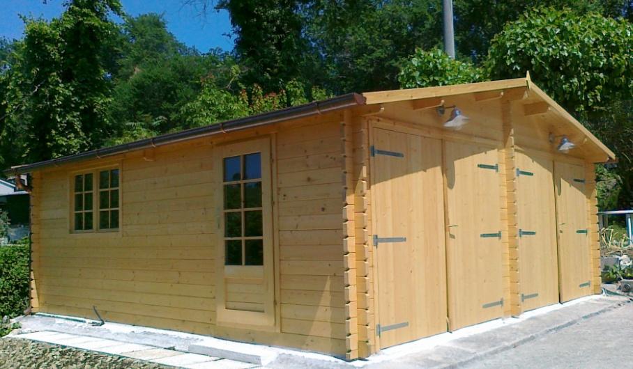 Case e casette prefabbricate in legno - Garage in legno ...