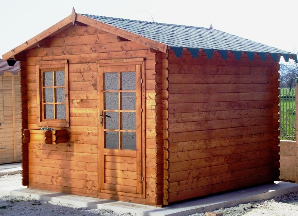 Case e casette prefabbricate in legno - Casette in legno per giardino prezzi ...
