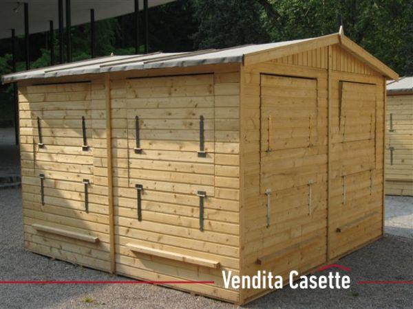 Chiosco in legno 4×4