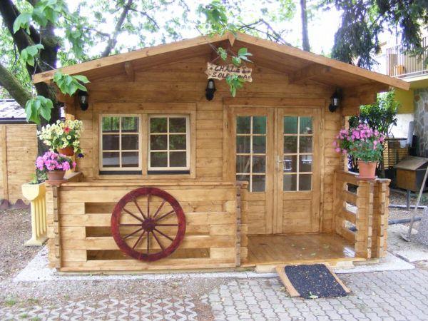 Casette e prefabbricati di legno in promozione for Prefabbricati di legno