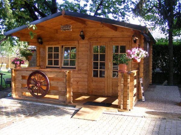 Casette di legno 45mm economiche for Case economiche a prezzi accessibili