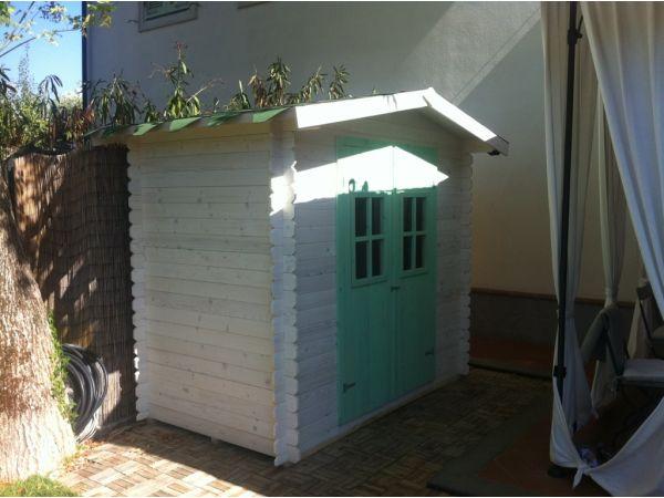 Casette in legno economiche for Casetta da giardino per bambini usata