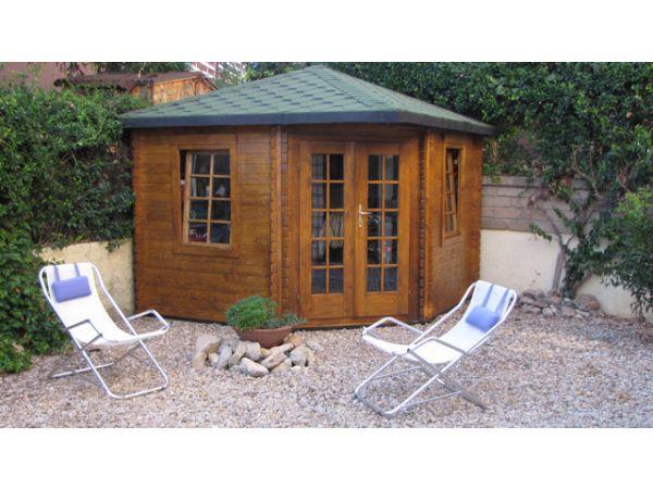 Casette e prefabbricati di legno in promozione for Offerte giardino